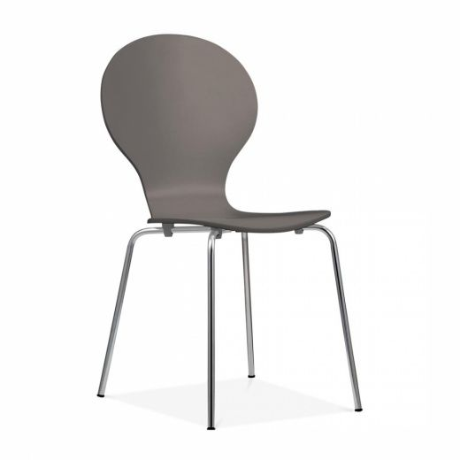 Cult Living Kitsch Dining Chair   Warm Grey