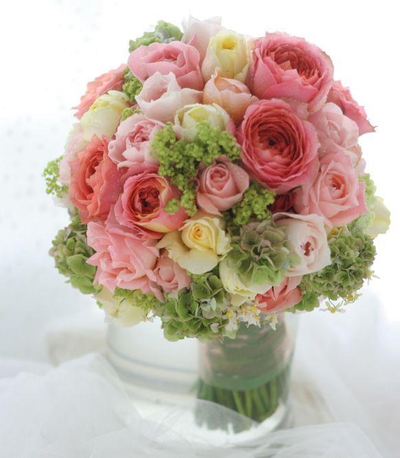 クラッチブーケ ロマンティックアンティーク 都ホテル様へ : 一会 ウエディングの花