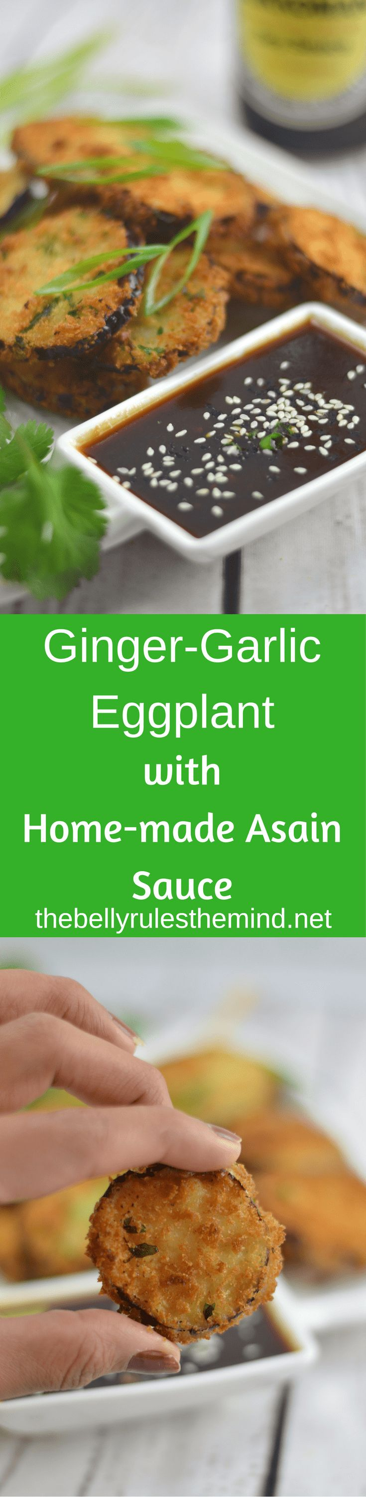 Entertain your friends, family and guests with this delicious Ginger- Garlic Eggplant With Homemade Asian Sauce.Careful...Ther're ADDICTIVE!! #SeasonYourHolidays #ad @KikkomanUSA  @Walmart  This holiday season,