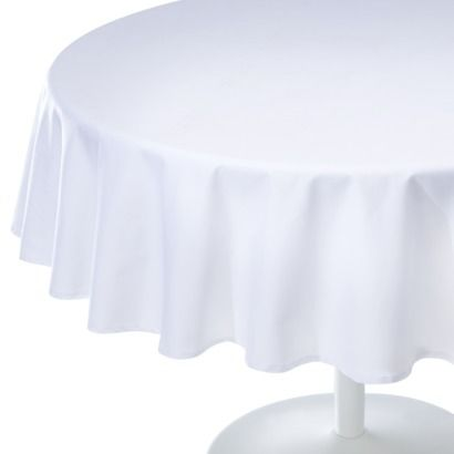 Room Essentials 174 Solid Round Tablecloth 70 Quot Bridal