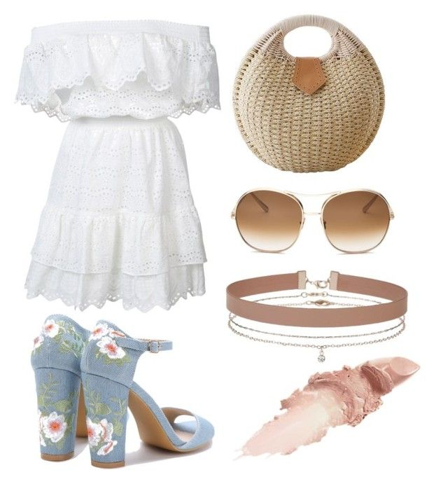 """Summer Boho"" by ariadna-sr on Polyvore featuring LoveShackFancy, Chloé, Miss Selfridge and Maybelline"
