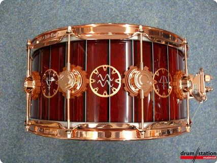DW USA Neil Peart The Time Machine 14x6,5 VLT Snaredrum #Snaredrum #Drum #Percussion #Instrument #vintageandrare #VandR #Music