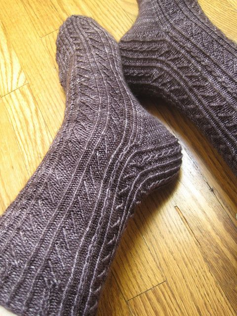 Knitting Cables Without Cable Needle : Best images about knit socks on pinterest knitting
