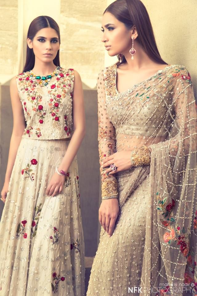 #PakCouture: Mesmerizing highly-detailed couture gowns for the twenty-teens! Wow! Imagine wearing this to a prom or formal gala of any kind!