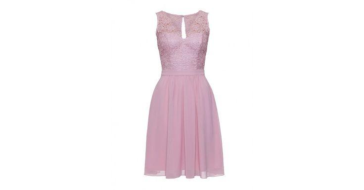 Review Australia | Lotus Lace Dress in Blush Blush