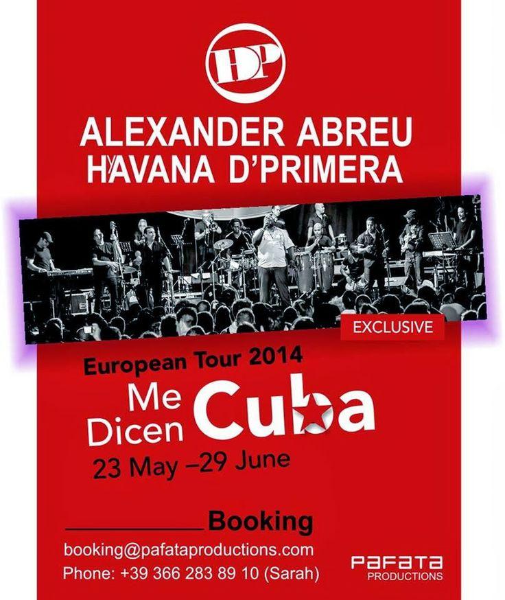 Cubasoyyo: Alexander Abreu y Havana d'Primera - Anticipaciones sobre el tercer disco (ENTREVISTA TV CUBANA 2014)