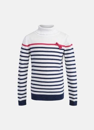 Стильный полосатый свитер для девочек за 999р.- от OSTIN