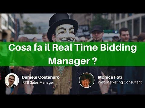 Cosa fa il Real Time Bidding Manager? abbiamo intervistato Daniele Costenaro, RTB manager di Adform http://www.digital-coach.it/blog/real-time-bidding-manage...