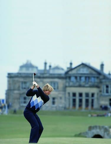 Jack Nicklaus - nice sweater