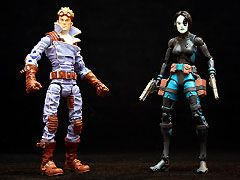 Marvel Legends Cannonball & Domino Twin Pack