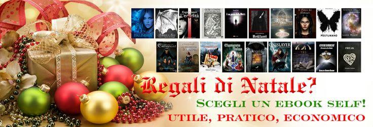 Crisi? A #Natale regalate #ebook #self! Utile, pratico, economico! http://www.selectedselfpublishing.it/