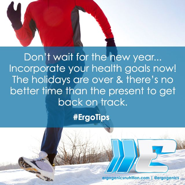 What are you waiting for? Start moving on your new year goals now! #ErgoTips #motivation #fitspo