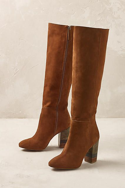 Anthropologie (if only they came on wide calf...)