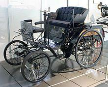 Benz Velo model (1894) – entered into an early automobile race as a motocycle[1][2]