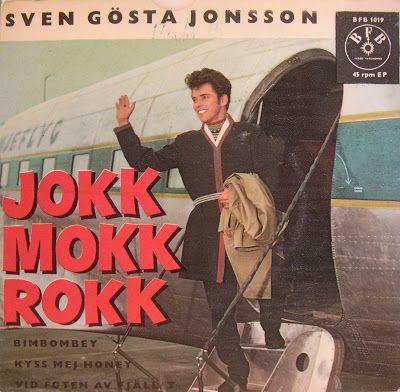 KATASTROFALA OMSLAG: Sven Gösta Jonsson - Jokkmokkrokk