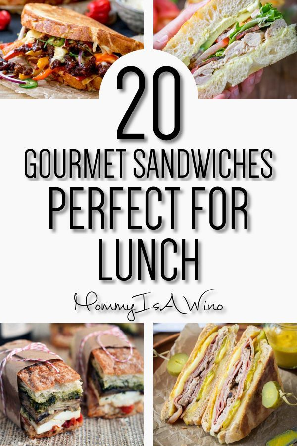 20 Gourmet Sandwiches Perfect For Lunch Gourmet Sandwiches