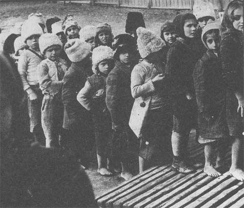 Greek children during the Greek Civil War. Pedomazoma saw 28,000 Greek children…