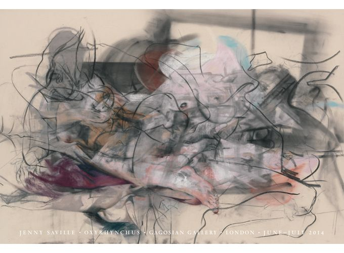 Shop - Jenny Saville - Oxyrhynchus Poster - Gagosian Gallery