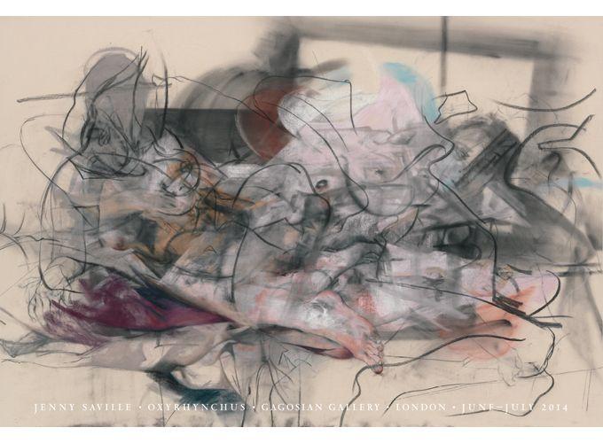 Shop - Jenny Saville - Oxyrhynchus Poster - Gagosian Gallery