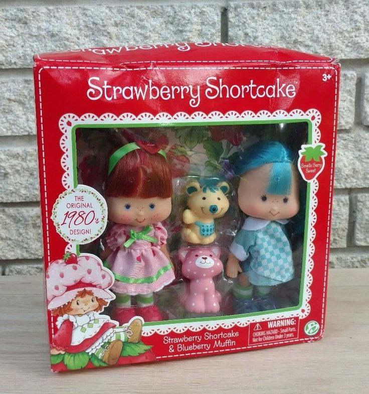 Strawberry Shortcake & BLUEBERRY MUFFIN Classic 1980s Design 2 Dolls 2 Pets  | Dolls & Bears, Dolls, By Brand, Company, Character | eBay!
