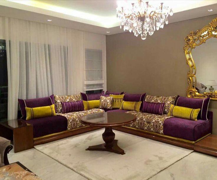 Decor Salon Arabe. Excellent Elegant Dcoration Salon Marocain With ...