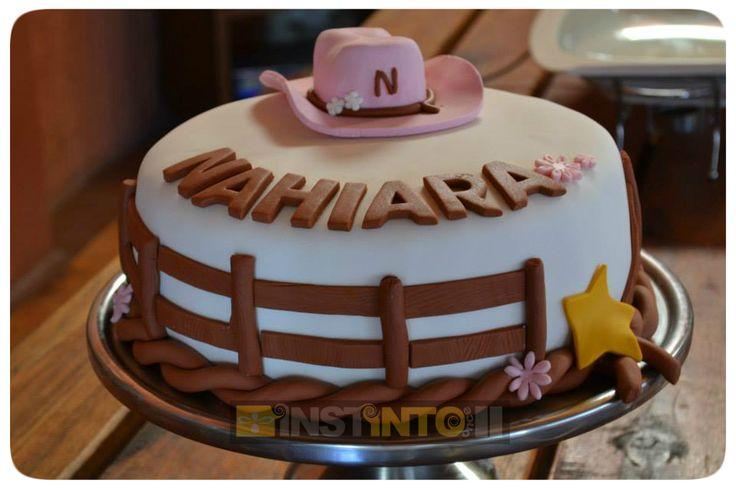 Torta de cumpleaños Callie Sheriff