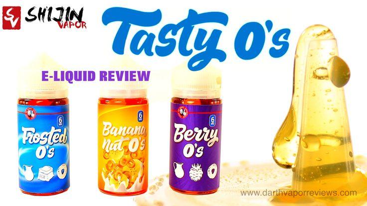 A review of the Tasty O's e-liquid line by Shijin Vapor