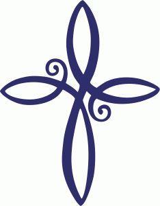infinity cross tattoos - Google Search
