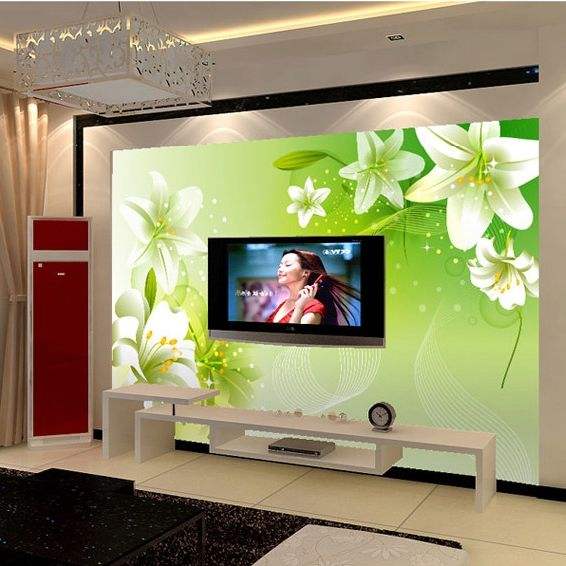 42 best images about mural tv on pinterest madeira search and design - Cacher cable tv mural ...