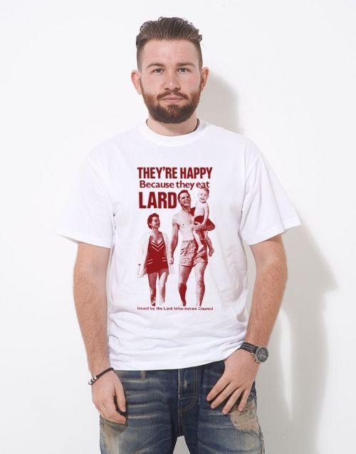 Eat Lard T Shirt from More T Vicar