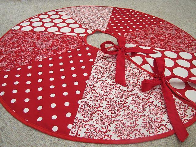 Ideas about christmas tree skirts on pinterest