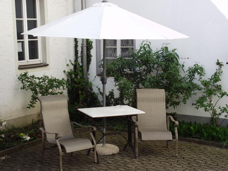 Innenhof Hotel Platengarten, Ansbach, #hotel #ansbach #zentral  #romantisch #denkmal #historisch #zentrum #schloss
