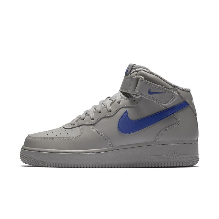 Nike Air Force 1 Mid 07 Men's Shoe Size 12.5 (Grey)