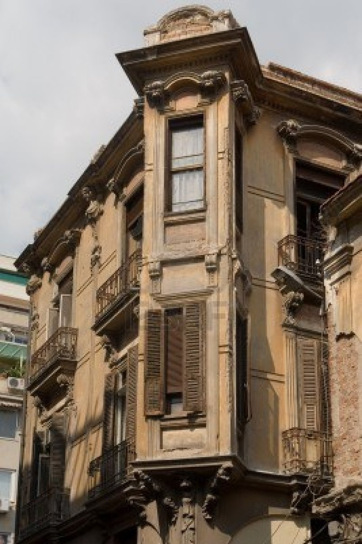 Old House At The Center Of Thessaloniki, Greece