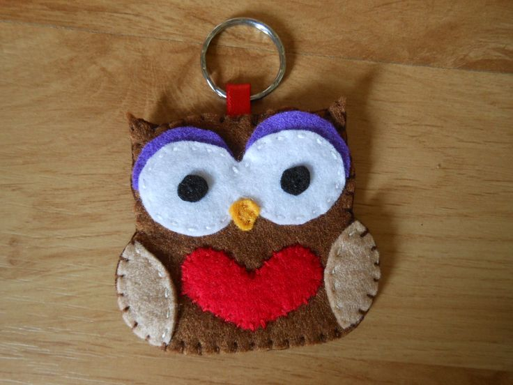 Special order for an owl key-ring.
