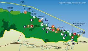 Resultado de imagen para rutas de viaje al tayrona