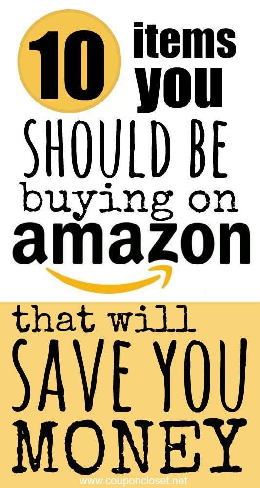249 best money matters images on pinterest personal finance top 10 items you should be buying on amazon to save money fandeluxe Image collections