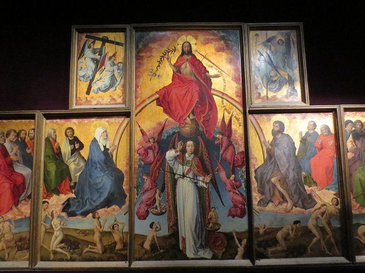 Hôtel-Dieu de Beaune 118 - Le Jugement dernier (Rogier van der Weyden) — Wikipédia