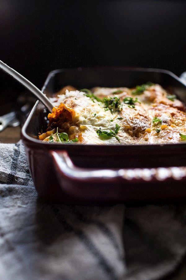 Spicy Mexican Lasagna Roll Ups | halfbakedharvest.com @Half Baked Harvest