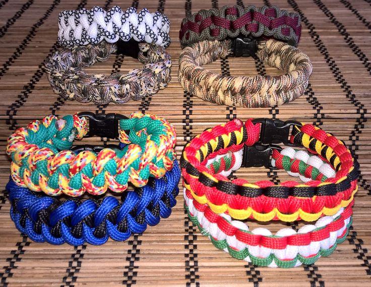 Crooked River Bar, Cobra, Fishtail, Shark Jaw Bone bracelets