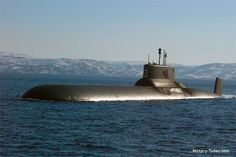 The Typhoon class submarines are the largest undersea vessels ever built