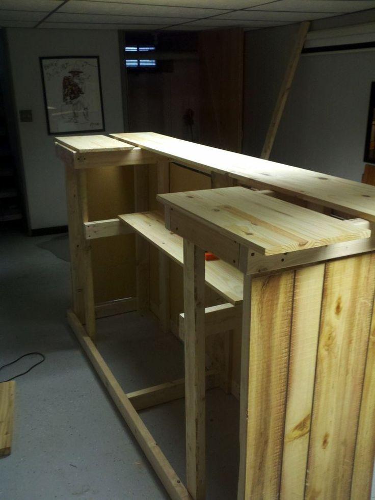 My First Home Bar Build | Bar