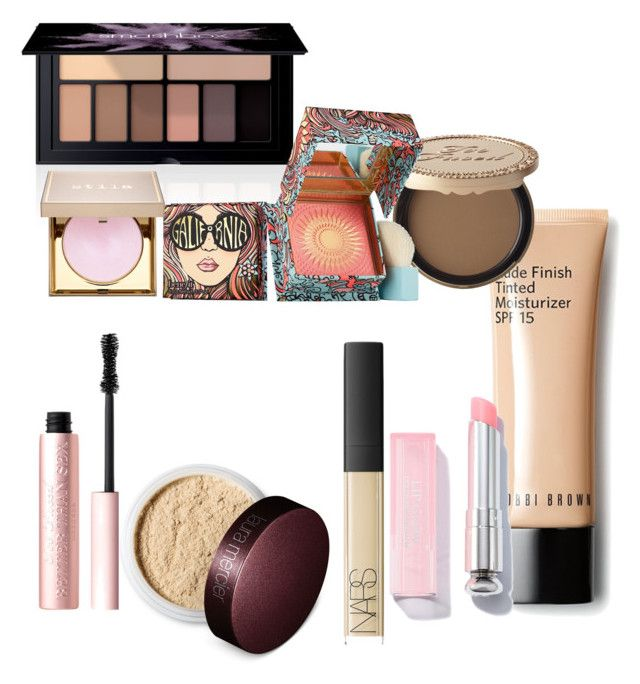 """""""High end makeup starter kit"""" by olivia-black002 on Polyvore featuring beauty, Too Faced Cosmetics, Smashbox, Benefit, Laura Mercier, NARS Cosmetics and Stila"""