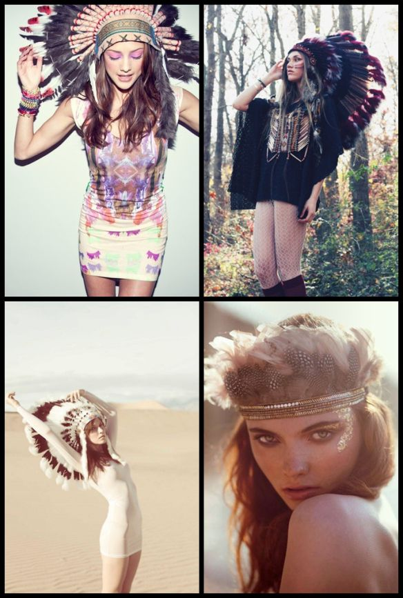 DIY Indian Feather Headdress | fashionticket