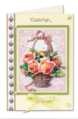 Cardmaking Book Flower Greeting Cards-89044