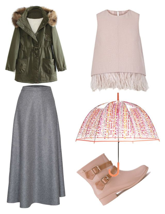 """rainy season"" by leelin on Polyvore featuring WithChic, James Lakeland, Vivienne Westwood Anglomania + Melissa, Vera Bradley, The 2nd Skin Co., women's clothing, women's fashion, women, female and woman"