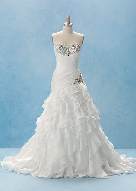 Disney's Jasmine Gown - Collection 2 | Alfred Angelo Bridal Collection | Disney's Fairy Tale Weddings & Honeymoons