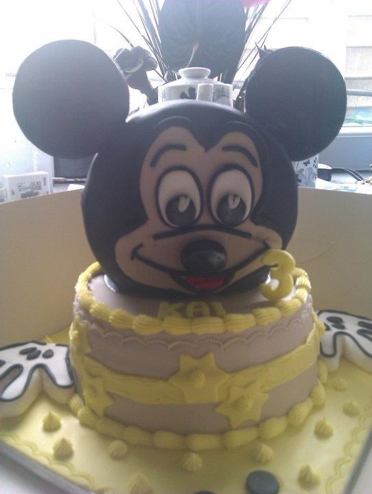 mickey mouse inspired x