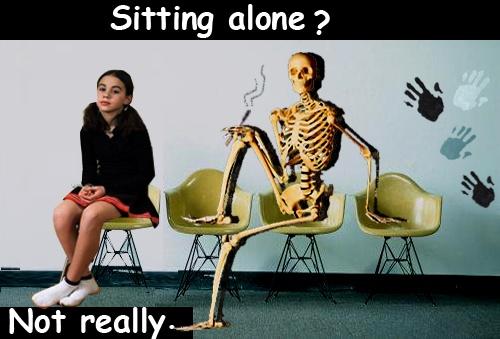 Sitting alone ?!   Think again :) .