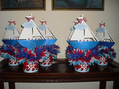 Karina nebot cumplea os de marinero bautismo pinterest - Decoracion estilo marinero ...